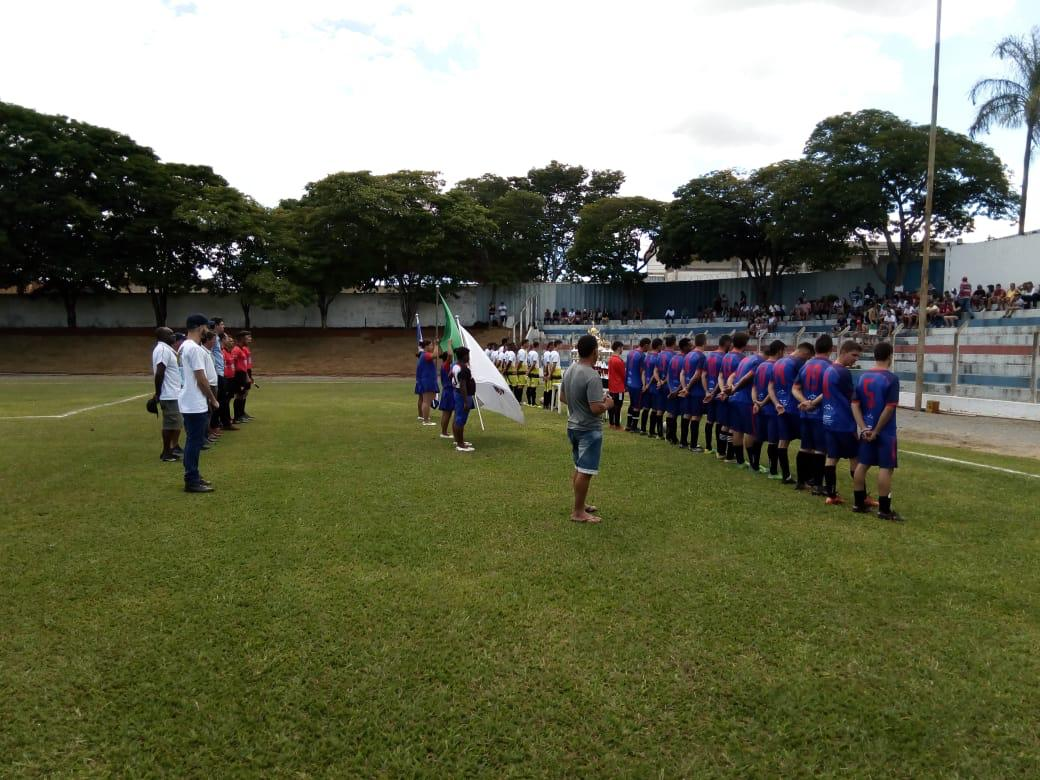 Final do campeonato municipal de futebol de Cristais!!